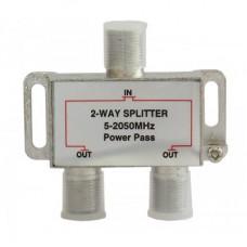 Сплиттер 2 выхода для спутникового и эфирного ТВ