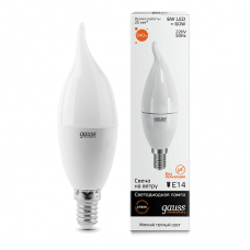 LED лампа Gauss Elementary Candle E14 6.0Вт 2700К