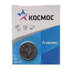 Батарея первичная литиевая CR2016 (КОСМОС) 3V