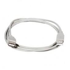 Кабель USB 1.5м серый 4-0057