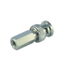 Штекер 9-0207(А) BNC-58 накрутка RG-58 (медь)