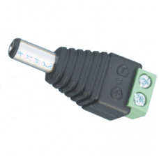Штекер питания шт.5,5х2,1 под винты (пластик) H9019